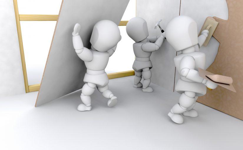 Tynkowanie ścian wewnętrznych